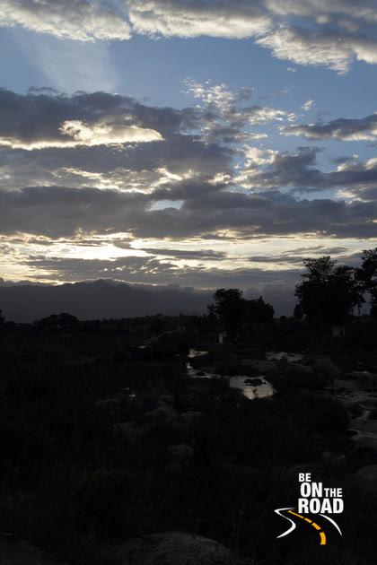 Vibrant skyline over Kallidaikurichi's Thamarabarani