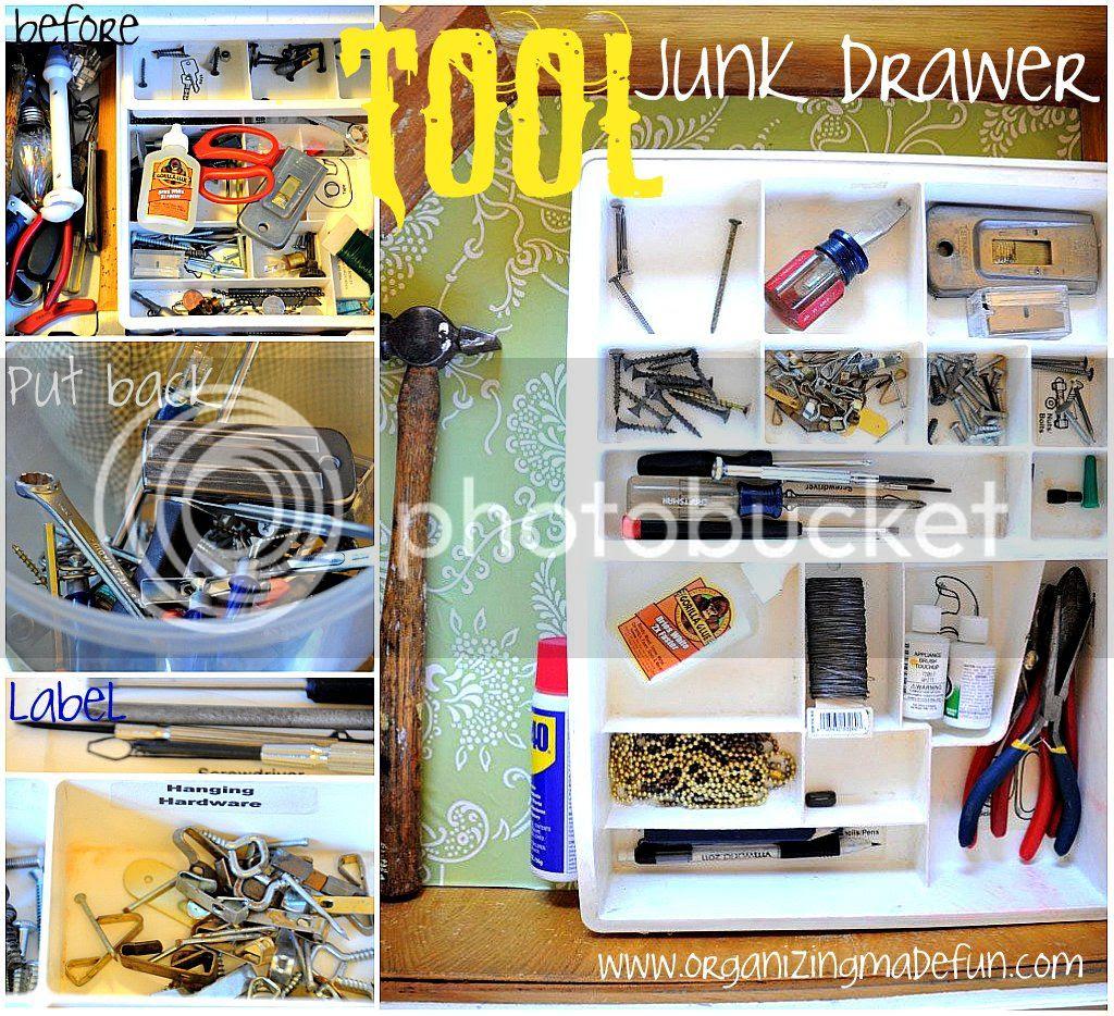 Organizing Junk Drawer