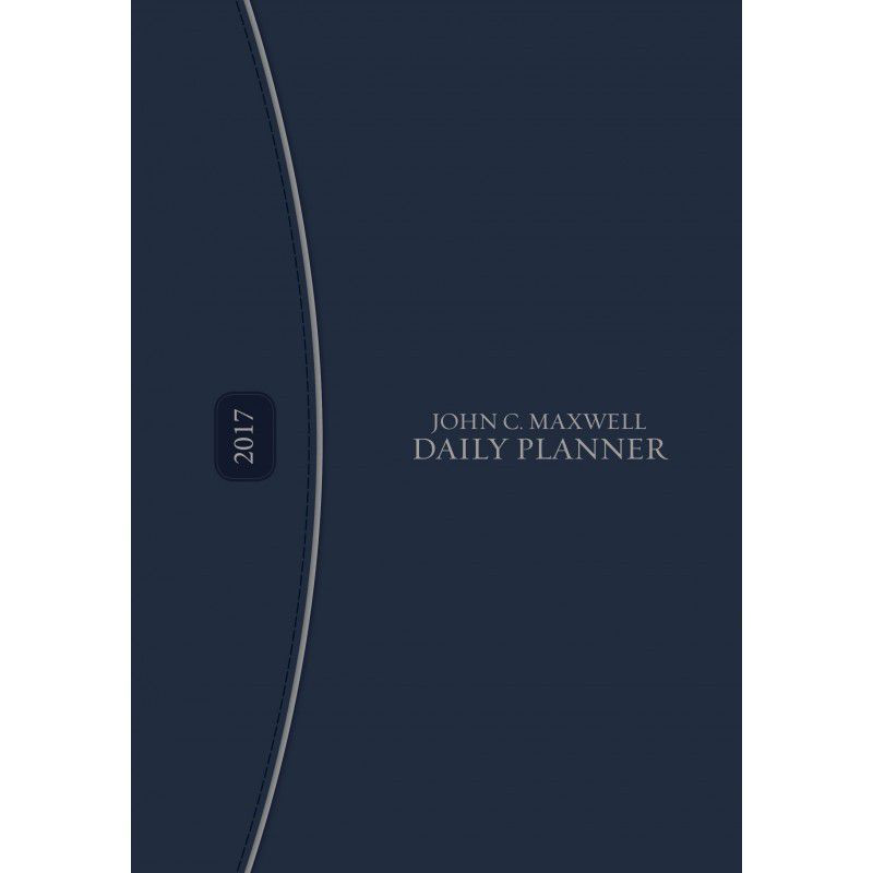 John C Maxwell A5 Daily Planner 2017 (hardcover)   Buy Online in ...