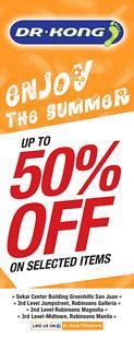DR KONG SUMMERPROMO 2013_50%_OFF_ALL