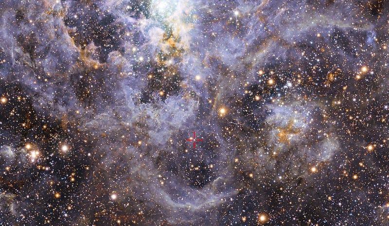 Descubren la mayor estrella binaria jamás vista, y podría generar una explosión masiva