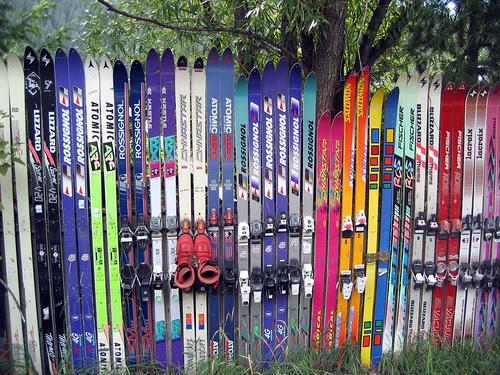 Hopeless Repurposing of Old Skis, Part I