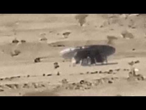 Real UFO With Aliens Caught On Camera From Saudi Arabia