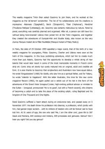 Bruxelles: al Comics Art Museum la grande mostra di Asterix!
