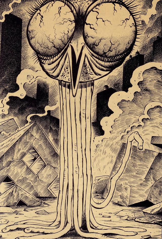 Tatsuya Morino - The War of the Worlds - H.G. Wells, 1898
