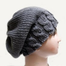Knitting pattern Hat Beanie Slouchy