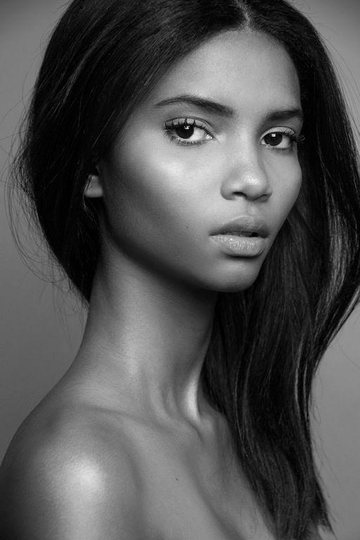 Le Fashion Blog Brazilian Model Lenny Nunes Fresh Faced Beauty Long Hair Joy Management