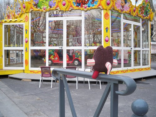 Bernie wants to ride the Carousel