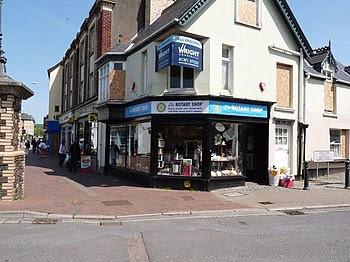 English: The Rotary Club Charity Shop.