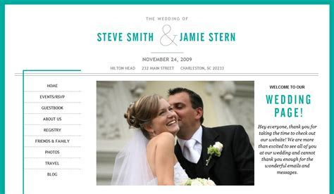 Your Day, Your Way: Create a Wedding Website (Part 1