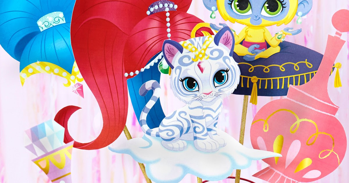 Shimmer And Shine Photo Booth Props Nickelodeon Parents