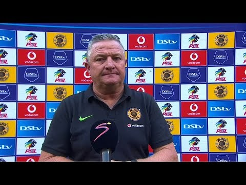 Gavin Hunt puts on brave face after Kaizer Chiefs' shock loss to Chippa United – watch for free