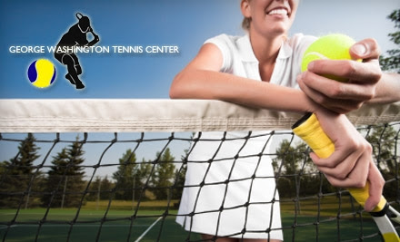 $35 for a One-Month Membership to The George Washington Tennis Center ($75 Value)