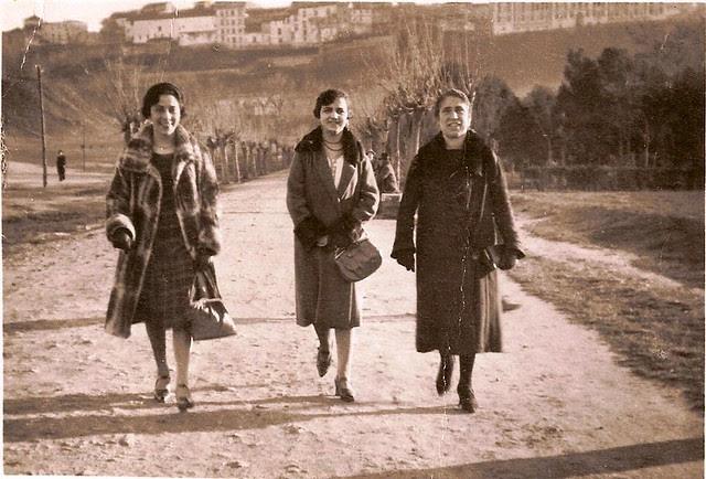Avenida de La Reconquista, Toledo, años 30. Fotografía de Eduardo Butragueño Bueno