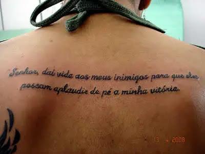 Frases Para Tatuagem Mensagens Cultura Mix