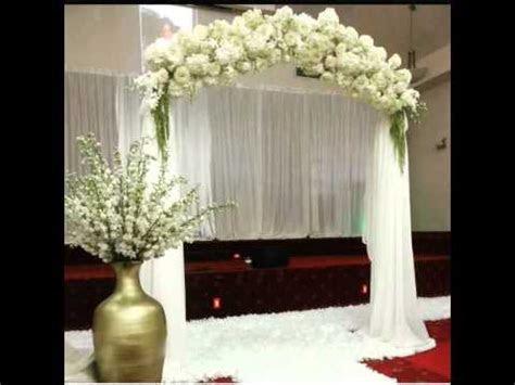 wedding arch rental nyc nj long island youtube