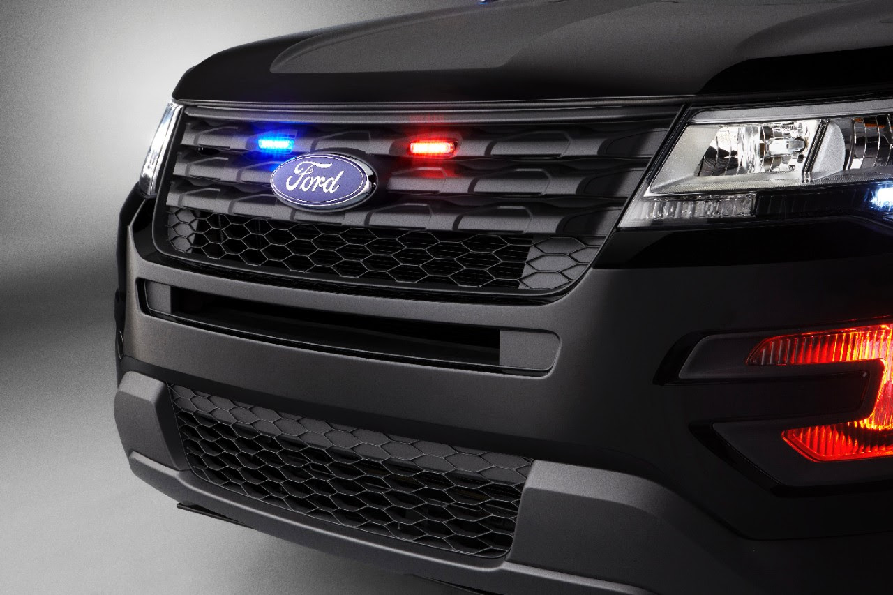 This Is The 2016 Ford Police Interceptor Utility