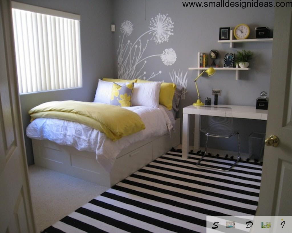 Small Design Ideas for Small Bedroom