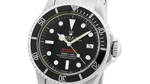 Toronto police say a Rolex worth $26,000 was taken from a change-room locker at the swimming pool at the Eaton Chelsea Hotel.