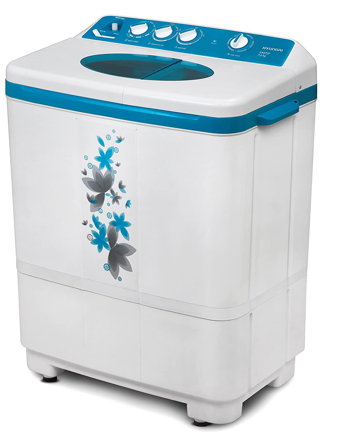 Deals on Hyundai 7.2 kg Semi-Automatic Top Loading Washing Machine