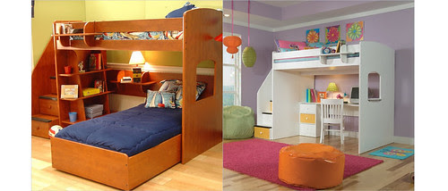 BeachBrights: Bunk Beds for a Small Room with Storage Options - GP