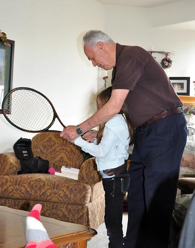 Grandpa and Christina