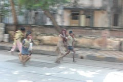 nowadays the beggar urchins run .. the moment you say Dhoble .. by firoze shakir photographerno1
