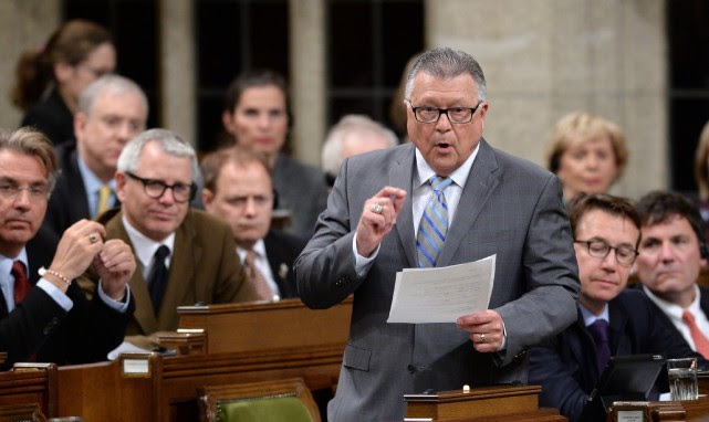 Selon le ministre de la Sécurité publique Ralph Goodale, il... (Photo Sean Kilpatrick, archives PC)
