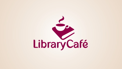 Library Cafe : The Library Café has been designed to cater to the needs of Macquarie University students and staff members logo design