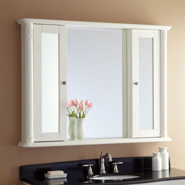Storage Unit Wall Mirrored Cabinet Mc111
