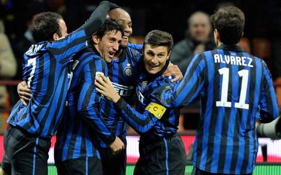Inter celebrating (Getty Images)