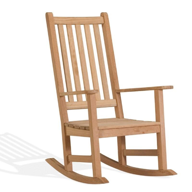 Shorea Wood Franklin Outdoor Rocking Chair OG-FRCH | CozyDays