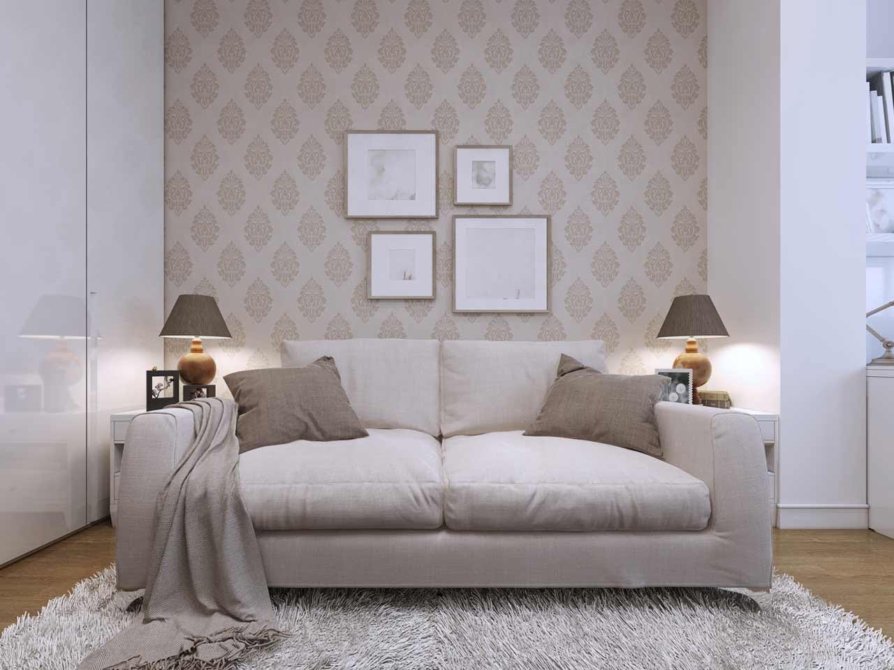 Living Room Wallpaper Dado Rail Homebase Wallpaper
