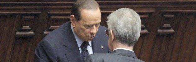 """Elezioni, Berlusconi a Monti: """"Il tempo dei tecnici è finito"""". Aut aut alla Lega"""