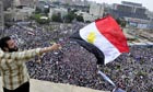 Egyptian protesters return to Tahrir Square in Cairo