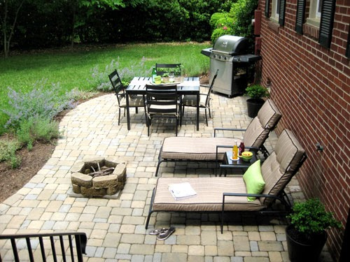 Patio ideas with fire pit on a budget kids art for Patio ideas with fire pit on a budget