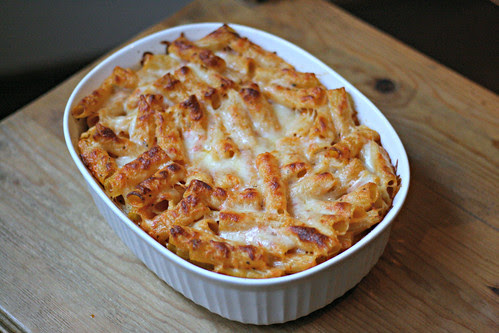 Pasta with Six Cheeses