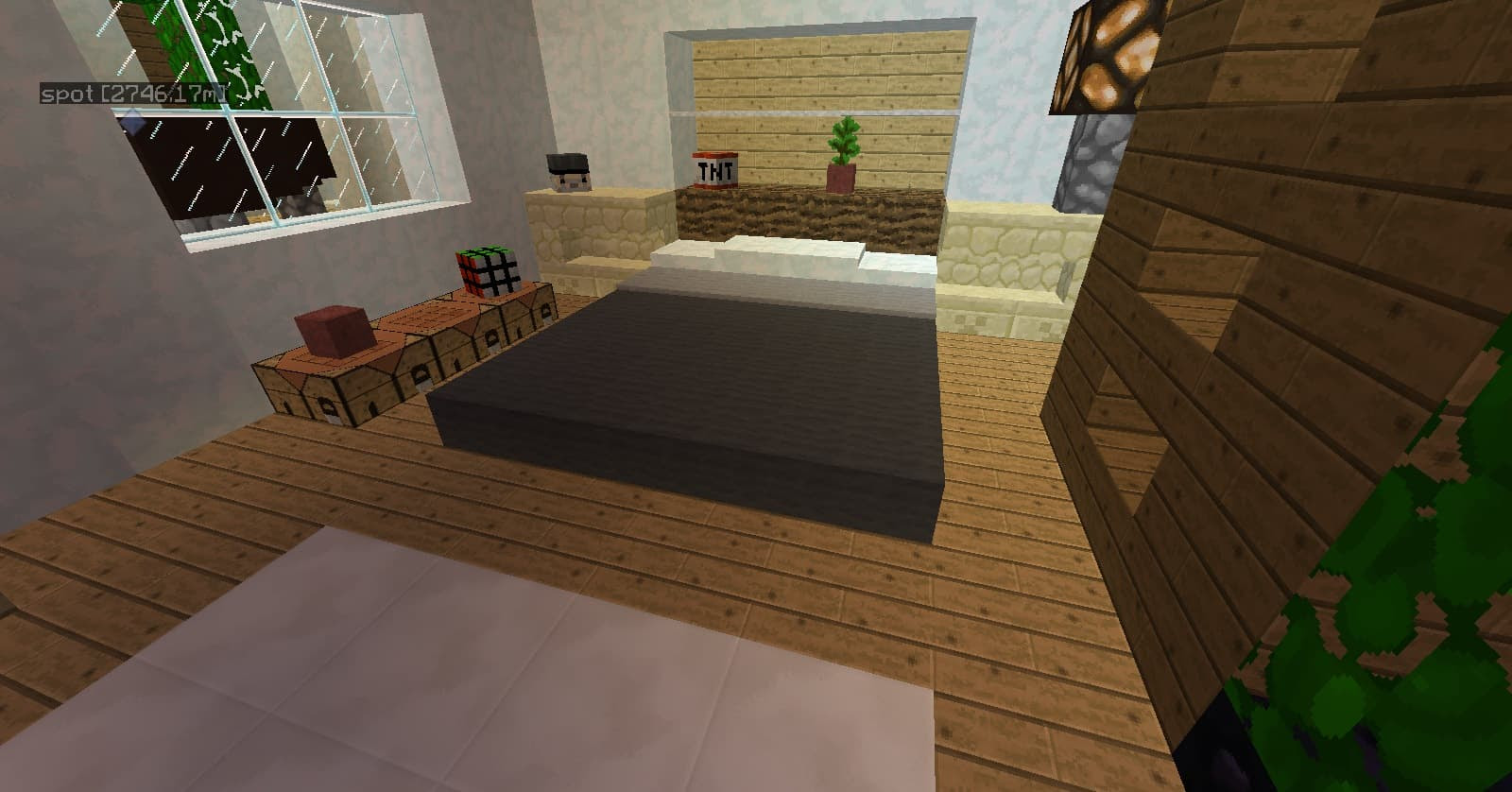 Bed Pillows   Snow - Minecraft Building Inc