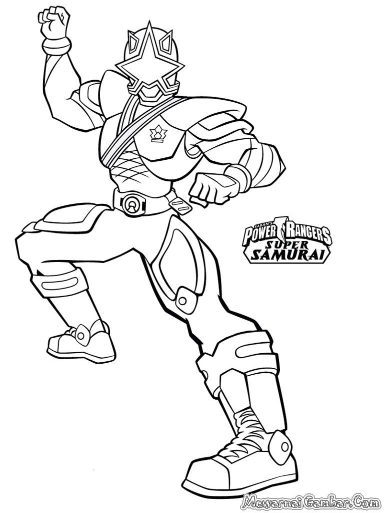 Koleksi Terbaru] Gambar Mewarnai Power Ranger Halaman