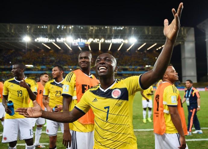 Pablo Armero Colômbia (Foto: Getty Images)
