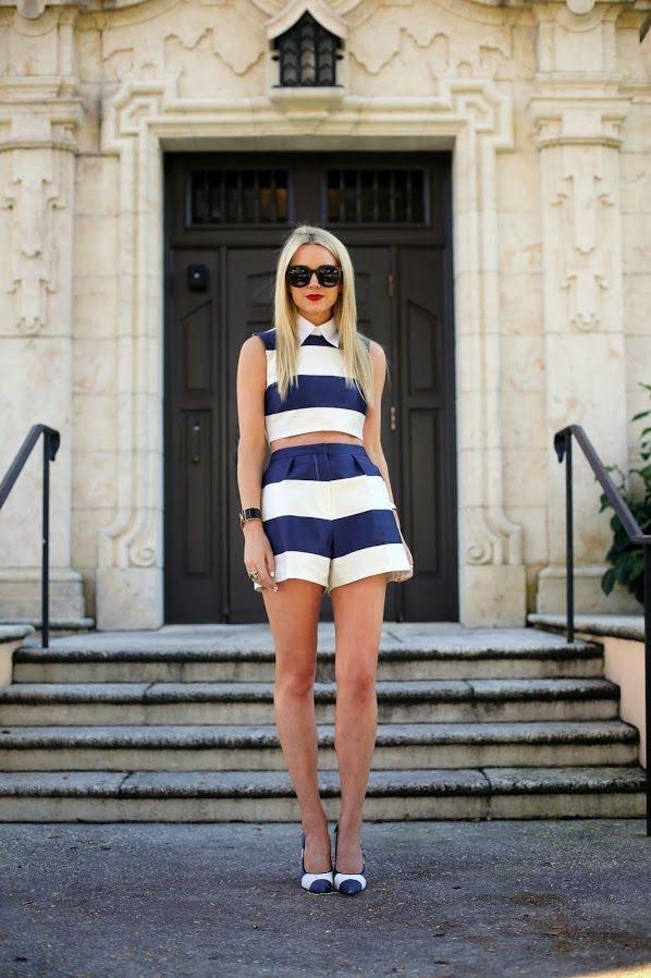 #fashion #fashionista @Blair Eadie // Atlantic Pacific Atlantic-Pacific: stripe // stripe // stripe