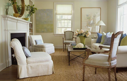 Classic White Living Room Style