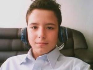 Jovem de 14 anos apresentou quadro grave da doença  (Foto: Reprodução / TV TEM)