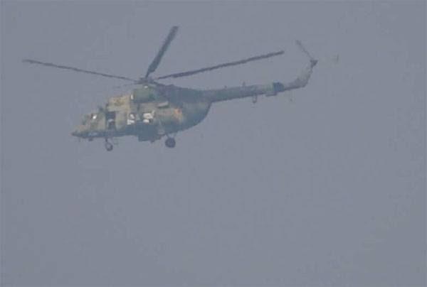 В Сирии сбит российский вертолёт Ми-8