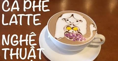 Cuộc sống Toronto - Đi uống cà phê latte hình nghệ thuật - Mochi đi tắm biển
