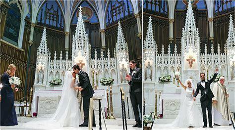 St. John The Evangelist Wedding Ceremony Of Kylie   Brad