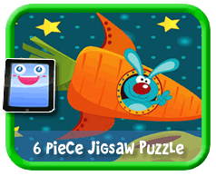 6 Piece Online jigsaw puzzle for kids