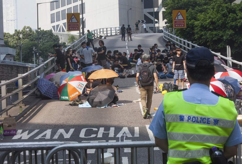 Prosiguen las protestas en Hong Kong