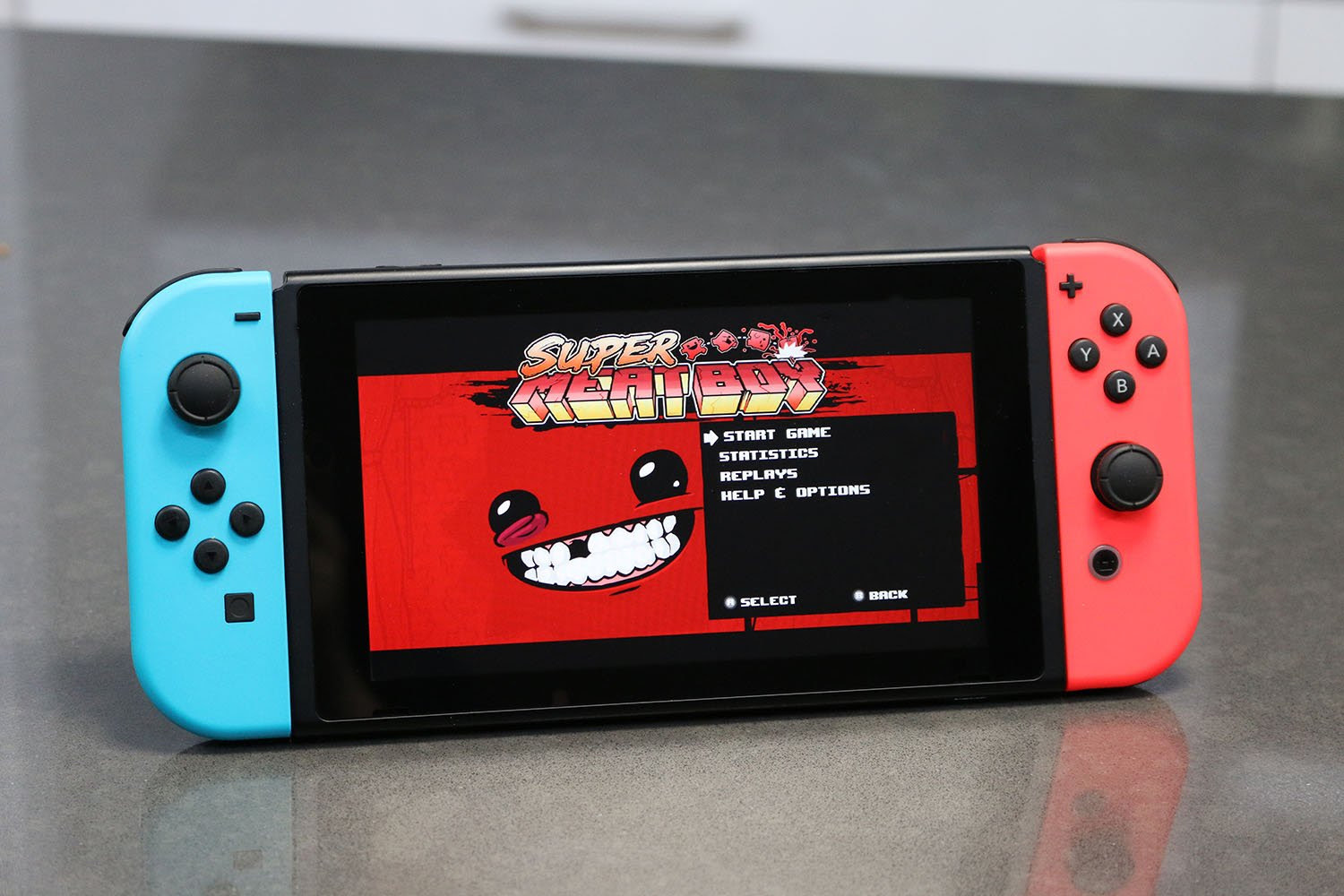 Are you down to play Super Meat Boy again on Nintendo Switch? screenshot