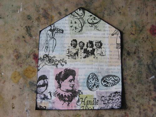 Mom Gothic Arch - #4 - Color Block Art 015